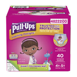 Pull-Ups Learning Designs Training Pants - Girls - Size 4T-5T - 40's