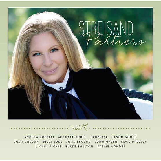 Barbra Streisand - Partners - CD