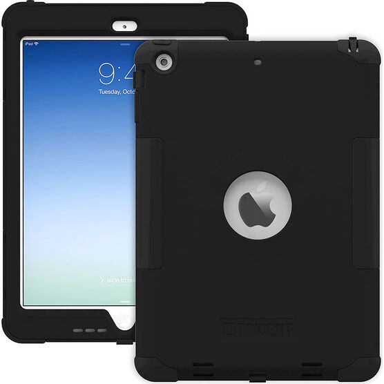 Trident Kraken Case for iPad Air - Black