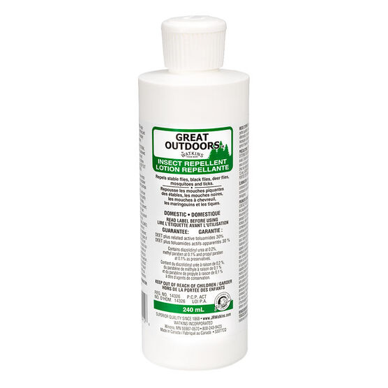 Great Outdoors 28.5% Deet Insect Lotion - 240ml