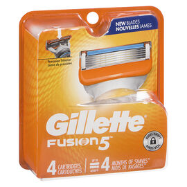 Gillette Fusion5 Power Razor Blades - 4's