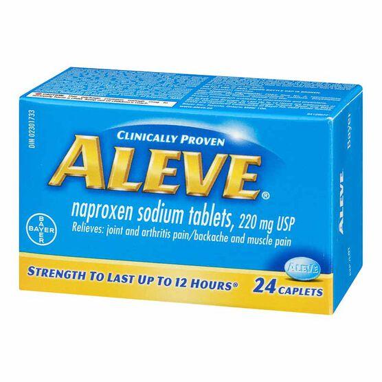 Aleve 220mg Tablets - 24's