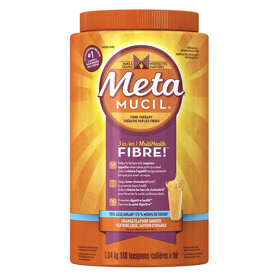 Metamucil 3in1 MultiHealth Fibre Smooth - Orange - 1.04kg
