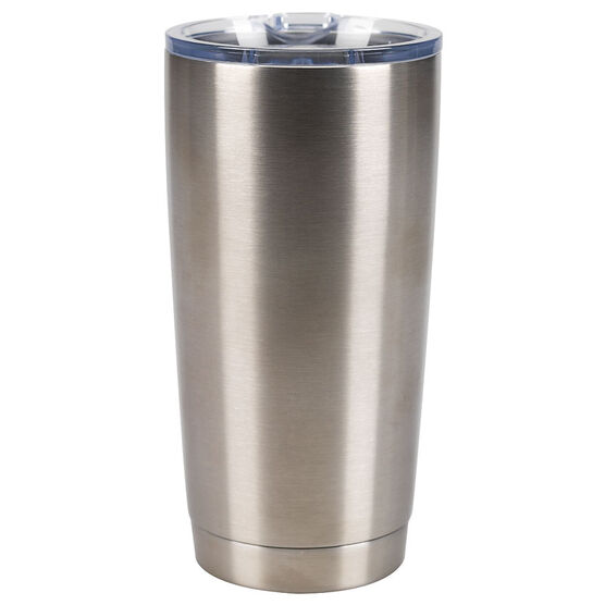 London Drugs Double Wall Mug - Stainless Steel - 590ml