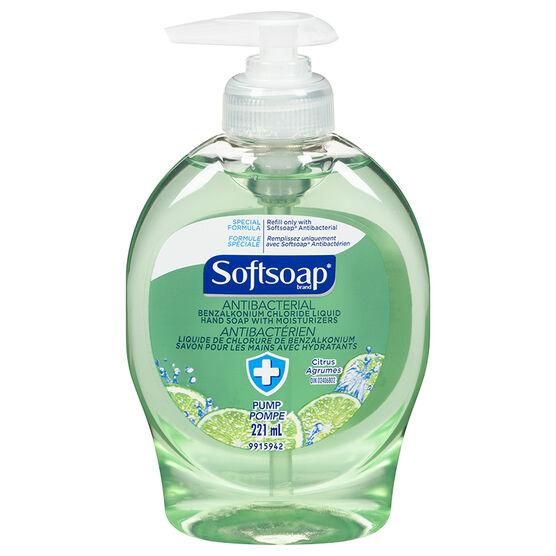 Softsoap Antibacterial Liquid Hand Soap - Citrus - 221ml