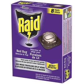 Raid Bed Bug Detector & Trap - 8's