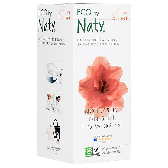 Naty Sanitary Liners - Large - 28's