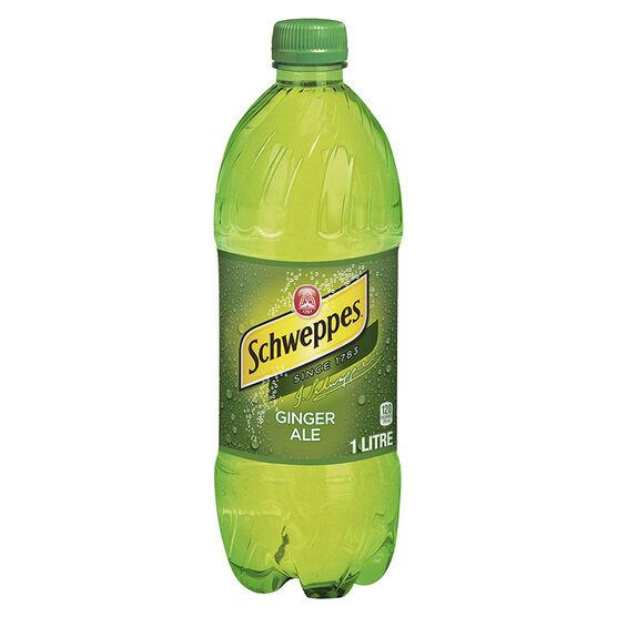 Schweppes Ginger Ale - 1L