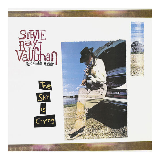Stevie Ray Vaughn and Double Trouble - The Sky is Crying - Vinyl