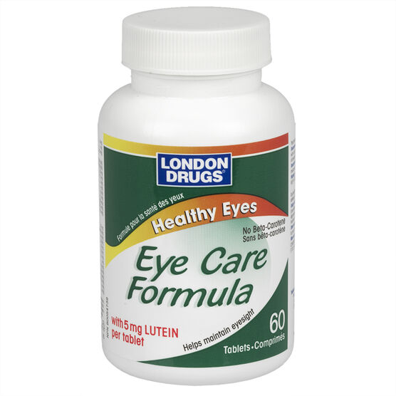 London Drugs Healthy Eyes with 5mg Lutein - 60's