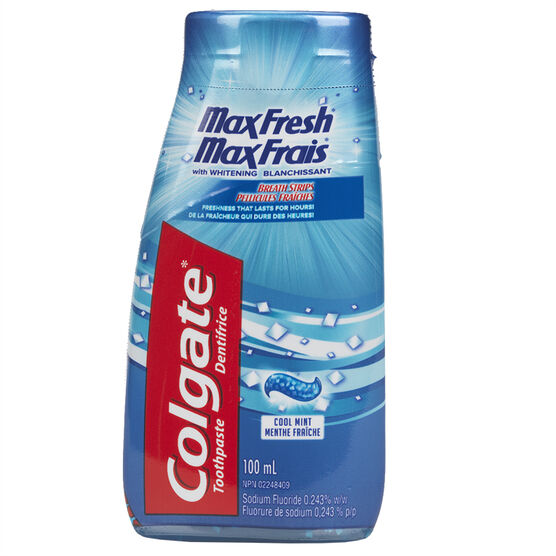 Colgate MaxFresh Toothpaste - Whitening Cool Mint - 100ml
