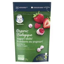 Gerber Organic Melts - Red Berries - 28g
