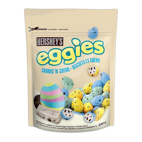 Hershey Eggies - Cookie & Cream - 220g