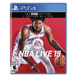PRE ORDER: PS4 NBA Live 19
