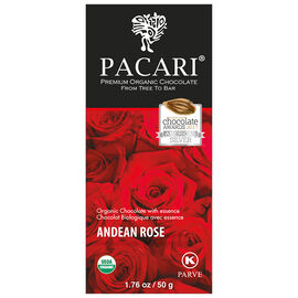 Pacari Organic Chocolate Bar - Andean Rose - 50g