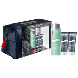 Biotherm Homme Aquapower Set - Normal/Combination Skin - 3 piece