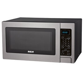 RCA Stainless 0.9 CU.FT. Microwave - Stainless Steel - RMW927