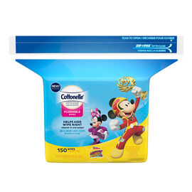 Cottonelle Disney Wipes Refills - 150's