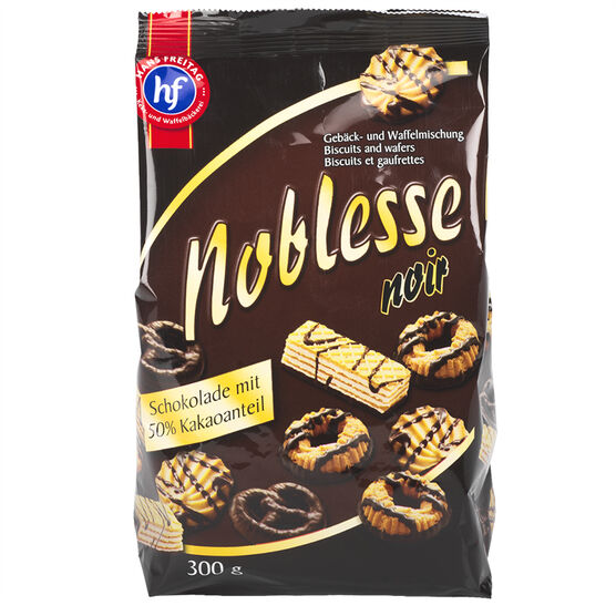 Hans Freitag Noblesse Noir Biscuits - 300g