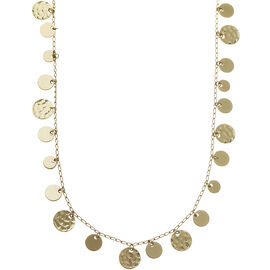 """Nine West Strand Necklace - Gold - 42"""""""