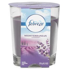 Febreze Candle - Mediterranean Lavender - 178g