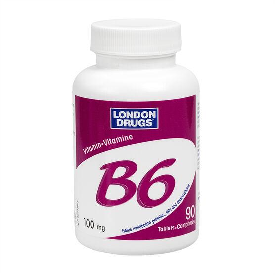London Drugs Vitamin B6 - 100mg - 90's