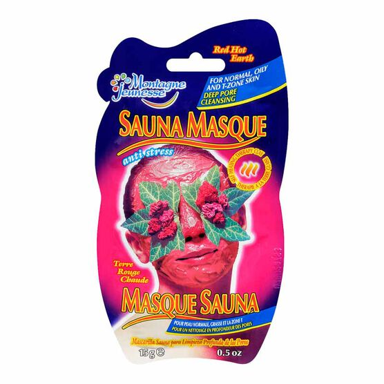 Montagne Jeunesse Hot Sauna Masque - Red Hot Earth - 15g
