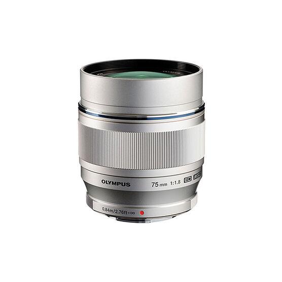 Olympus 75mm F1.8 Lens - Silver - V311040SU000