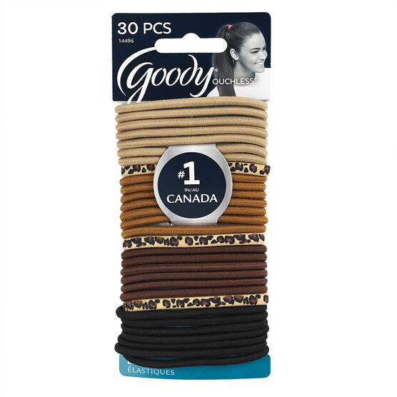Goody Ouchless Elastics - Wild Side - 30's