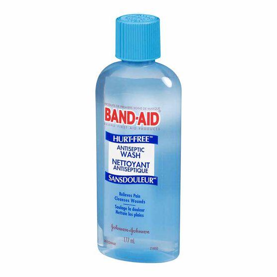 Band-Aid Hurt-Free AntiSeptic Wash - 177ml
