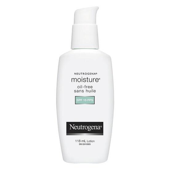 Neutrogena Moisture Oil-Free - SPF 15 - 118ml