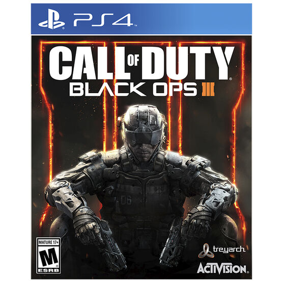 PS4 Call of Duty: Black Ops 3 - English Only
