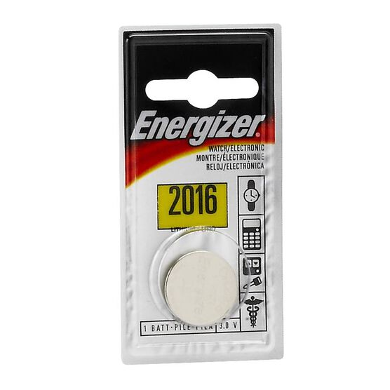 Energizer Lithium Battery - ECR2016BP