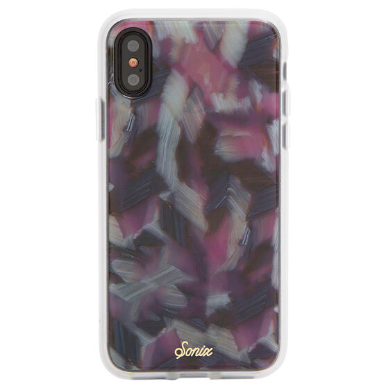 Sonix Tort Luxe Case for iPhone X - Pink Tort - SX27601340011