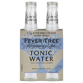 Fever-Tree Tonic Water - Light - 4x200ml
