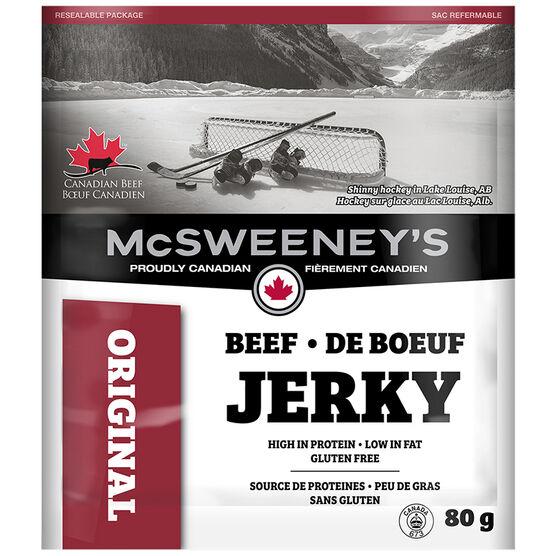 McSweeney Beef Jerky - Original - 80g
