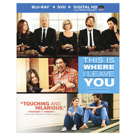 This is Where I Leave You - Blu-ray Combo