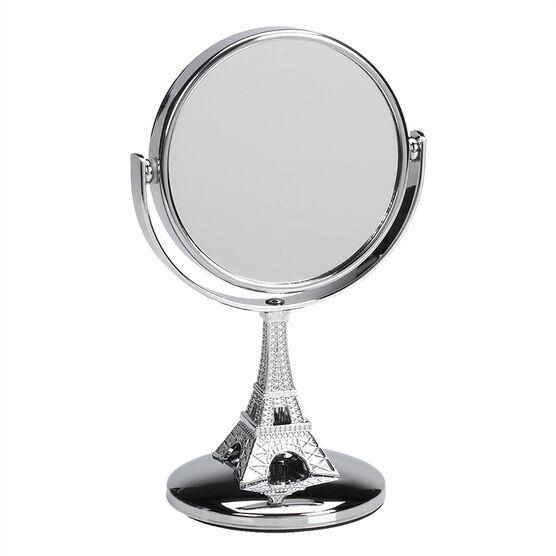 Danielle Eiffel Tower Vanity Mirror - Mini - Chrome - 4x
