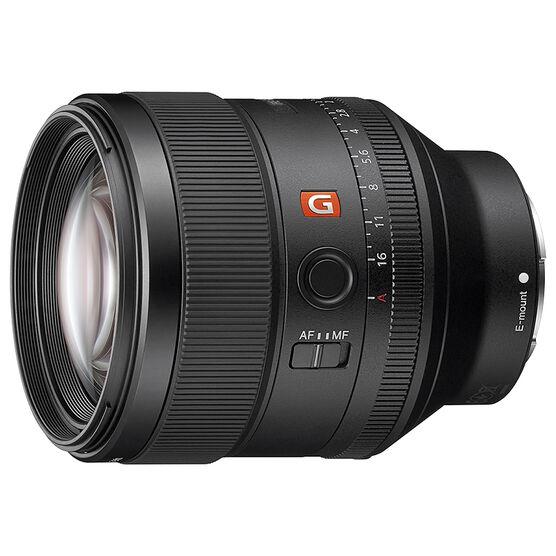 Sony FE 85mm F1.4 GM Lens - Black - SEL85F14GM