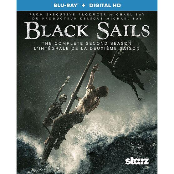 Black Sails: The Complete Second Season - Blu-ray