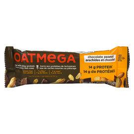 Oatmega Whey Protein Bar - Chocolate Peanut - 50g