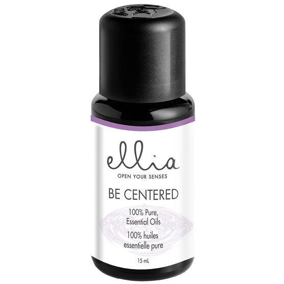 Ellia 100% Pure Essential Oils - Be Centered - 15ml