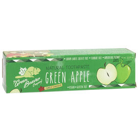 The Green Beaver Company Natural Toothpaste - Green Apple - 75ml