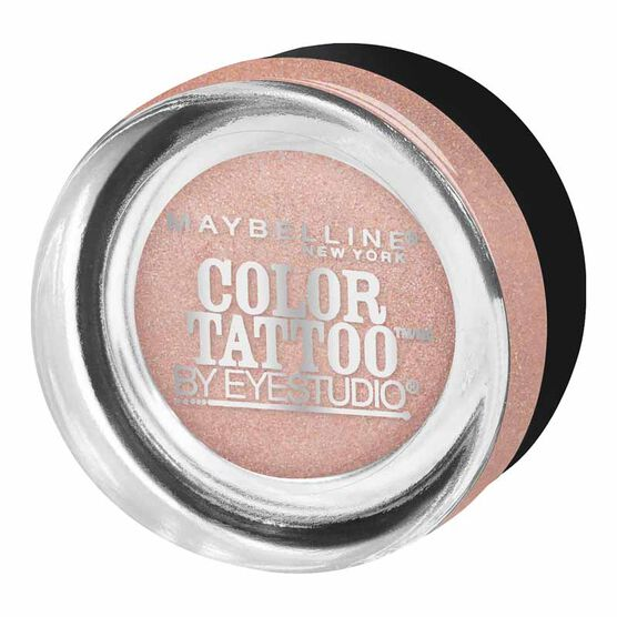 Maybelline EyeStudio Color Tattoo Metal Eyeshadow - Inked in Pink