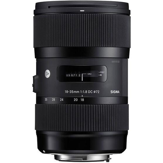 Sigma Art DC 18-35mm F1.8 DC HSM Lens for Nikon - A1835DCHN