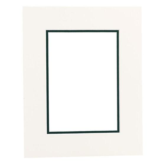 Tempo 8x10 Mat Frame - Chantilly/Evergreen