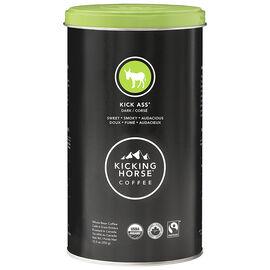Kicking Horse Coffee - Kick Ass Dark Roast - Whole Bean - 350g Tin