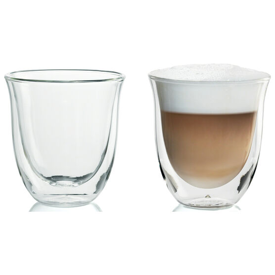 DeLonghi Cappuccino Glasses - 2 pack