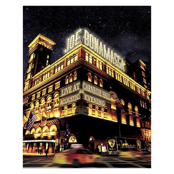 Joe Bonamassa Live at Carnegie Hall: An Acoustic Evening - DVD