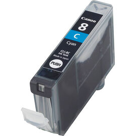 Canon CLI-8C Ink Cartridge - Cyan - 0621B002